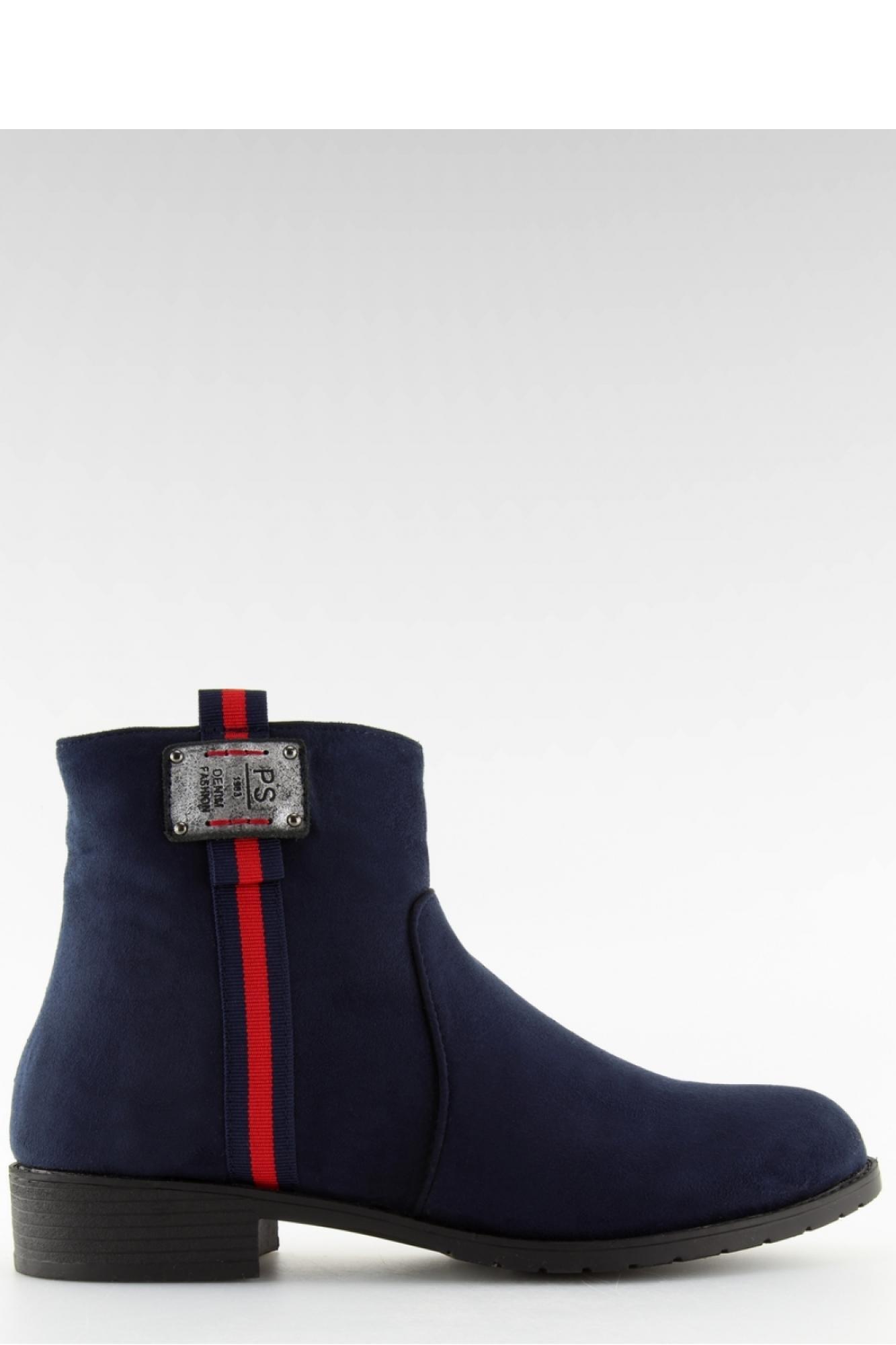 5d4f01be09fab Inello - Женская обувь ZAMSZOWE SZTYBLETY Z ĆWIEKAMI F175 GREY ...