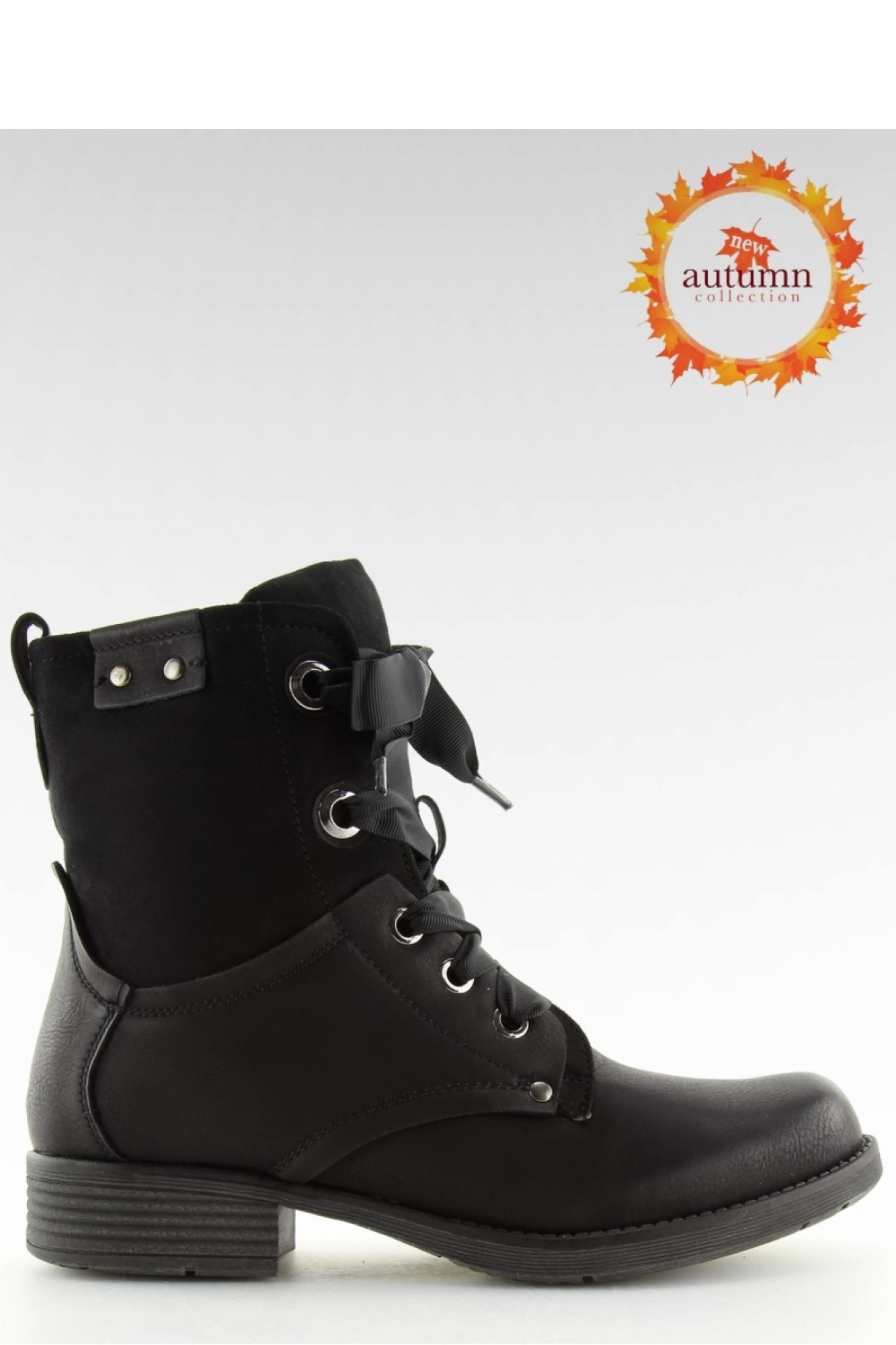 f2dd251fa3231 Inello - Женская обувь BOTKI WORKERY CZARNE 17103-13 BLACK - Inello ~Workery