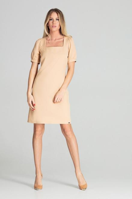 GLOBALTEX  M704 Платье Бежевый оптом