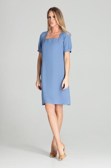 GLOBALTEX  M704 Платье Голубой оптом