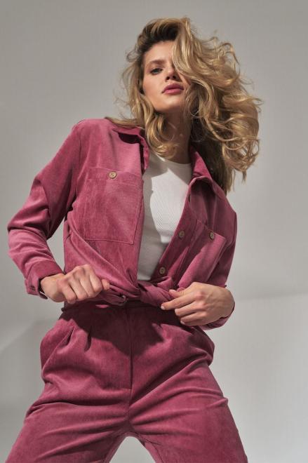 Figl  M747 Рубашка Розовый оптом