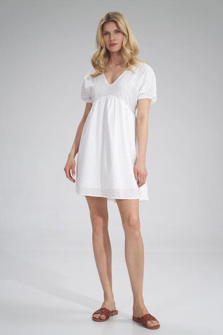 Figl  M763 Платье Белый оптом
