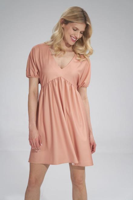 Figl  M766 Платье Апельсиновый оптом