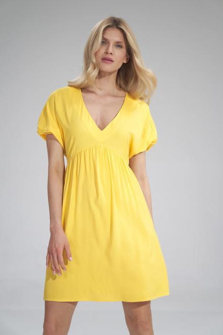 Figl  M766 Платье Желтый оптом