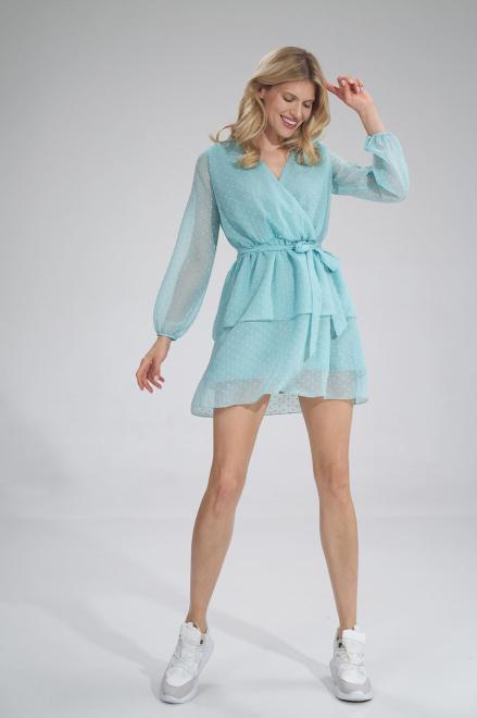 Figl  M767 Платье Мятный оптом