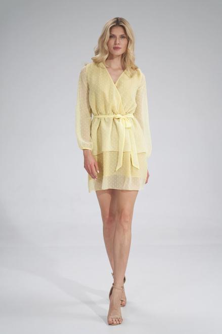 Figl  M767 Платье Желтый оптом