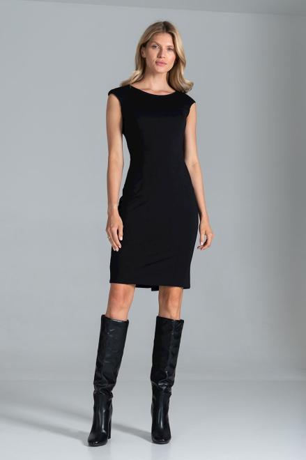 Figl  M834 Платье черный оптом