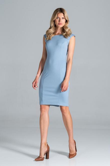 Figl  M834 Платье Голубой оптом