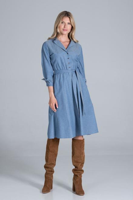 Figl  M838 Платье Голубой оптом