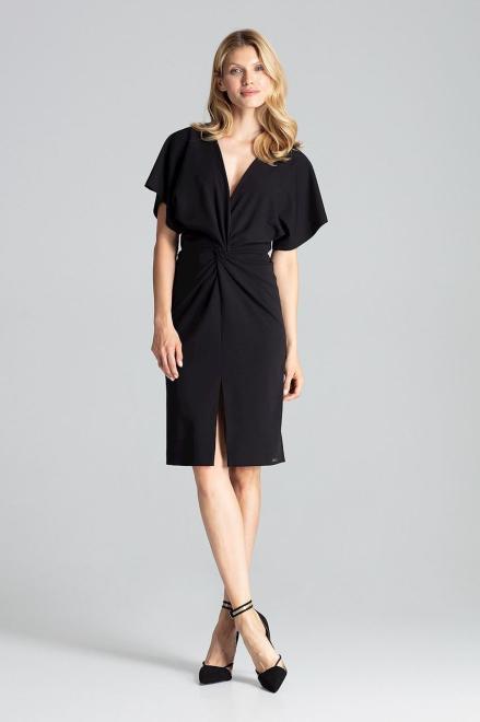 GLOBALTEX  M687 Платье Черный оптом