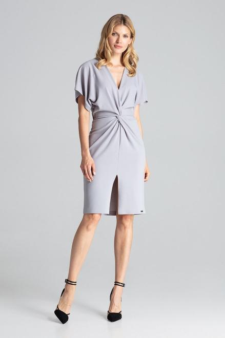 GLOBALTEX  M687 Платье Серый оптом