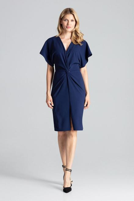 GLOBALTEX  M687 Платье Темно-синий оптом
