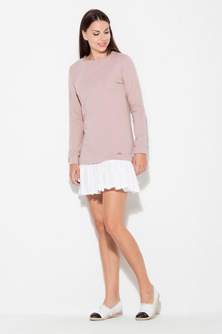 Katrus  K451 Платье Розовый оптом