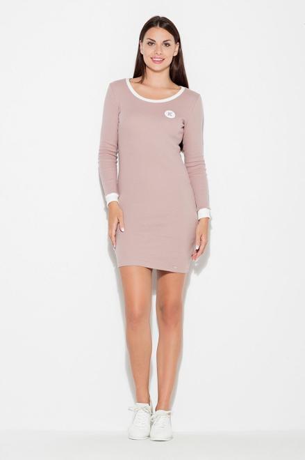 Katrus  K452 Платье Розовый оптом
