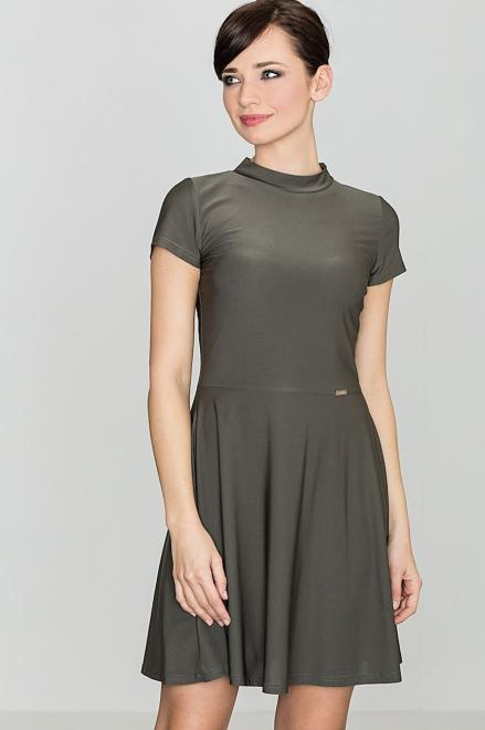 GLOBALTEX  K433 Платье Оливковый оптом