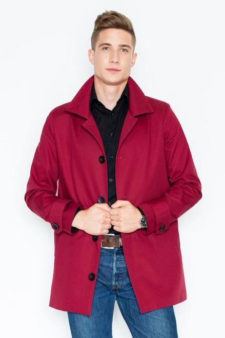 GLOBALTEX  V028 Пальто Бордовый оптом