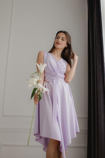 Lenitif  L080 Платье Фиолет оптом
