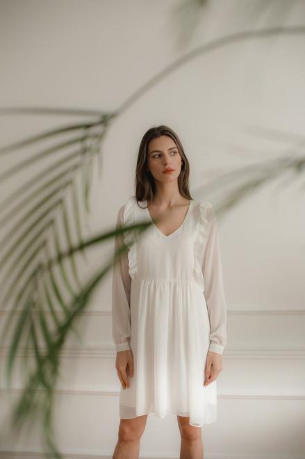 Lenitif  L083 Платье Экри оптом