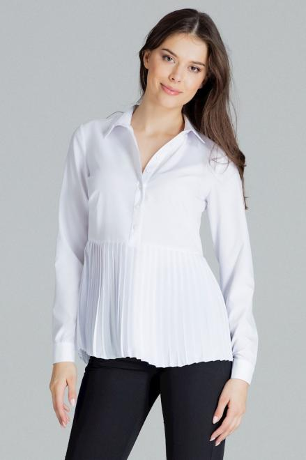 Lenitif  L089 Блузка Белый оптом