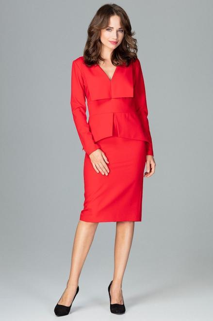GLOBALTEX  K491 Платье Красный оптом