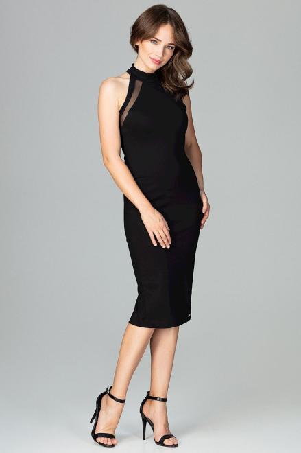 GLOBALTEX  K492 Платье Черный оптом