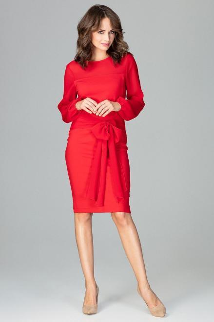 GLOBALTEX  K494 Платье Красный оптом