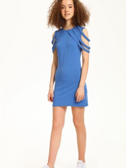 TROLL  sukienka damska  TSU0605 Платье Голубой оптом
