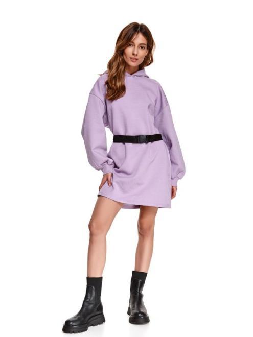 TOP SECRET  SUKIENKA Z PASKIEM SSU3485 Платье Фиолетовый оптом