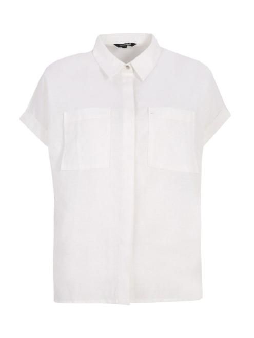 TOP SECRET  Koszula z krótkim rękawkiem SKS1136 Рубашка Белый оптом