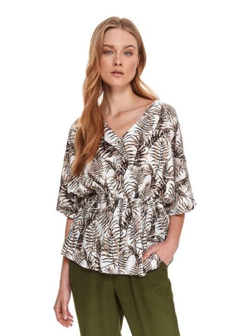 TOP SECRET  Bluzka z kimonowym rękawem SBK2704 Блузка Хаки оптом