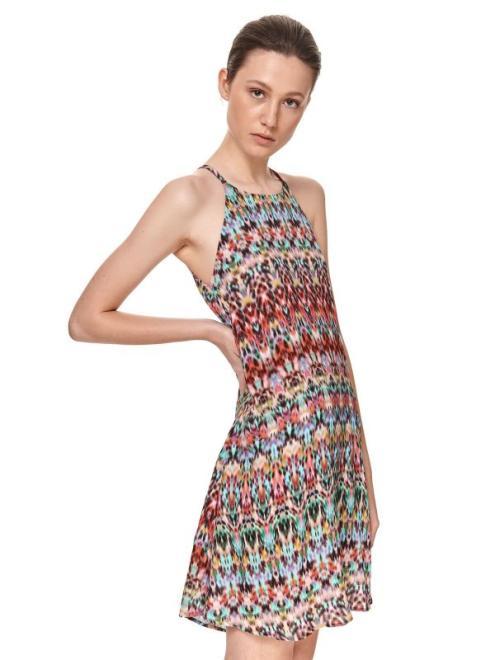 TOP SECRET  PRINTOWANA SUKIENKA O LUŹNYM KROJU SSU3653 Платье Цветной оптом