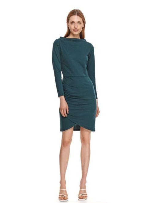 TOP SECRET  sukienka damska gładka SSU3506 Платье Зеленый оптом