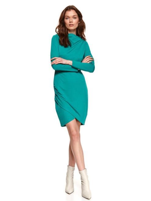 TOP SECRET  sukienka damska gładka SSU3505 Платье туркус оптом