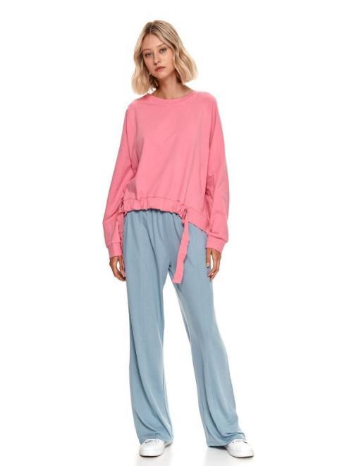 TOP SECRET  Spodnie dresowe z szerokimi nogawkami SSP3853-W2 Брюки Голубой оптом
