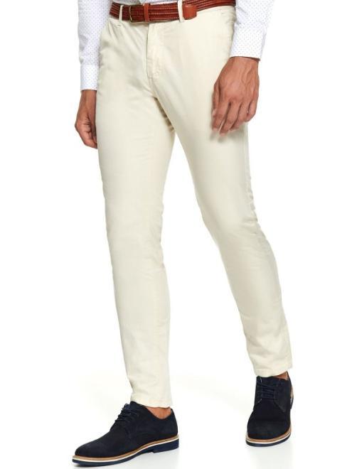 TOP SECRET  spodnie typu chino regularne SSP3262 Брюки Бежевый оптом