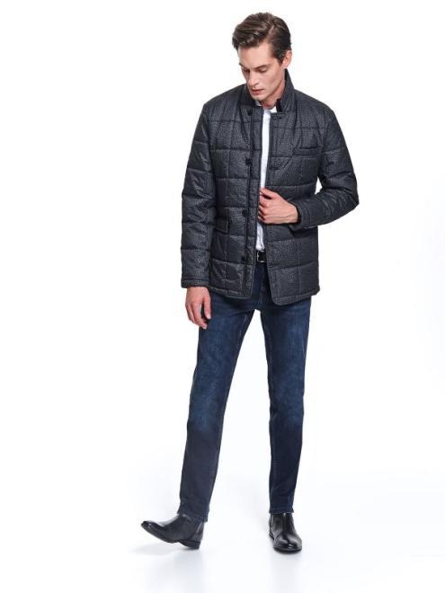 TOP SECRET  kurtka pikowana ze stójką SKZ0077 Куртка Серый оптом