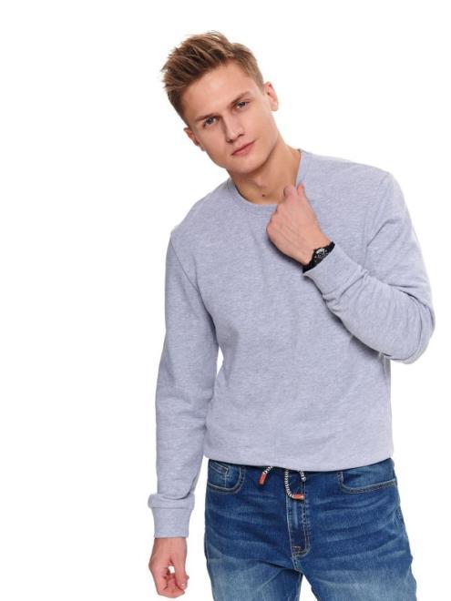 TOP SECRET  bluza gładka SBL0748 Блуза Серый оптом