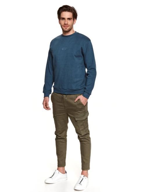 TOP SECRET  bluza nierozpinana męska nierozpinana SBL0901 Блуза Темносиний оптом