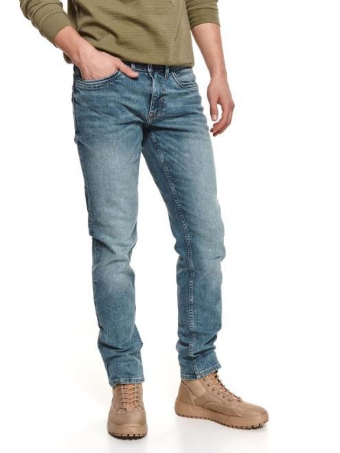 TOP SECRET  spodnie denim oprane SSP3716 Брюки Голубой оптом