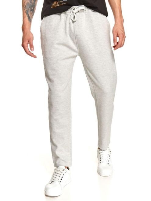 TOP SECRET  spodnie dresowe joggery SSP3862 Брюки Серый оптом