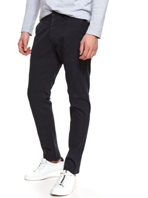 TOP SECRET  spodnie długie męskie slim, chino SSP3745 Брюки Темносиний оптом