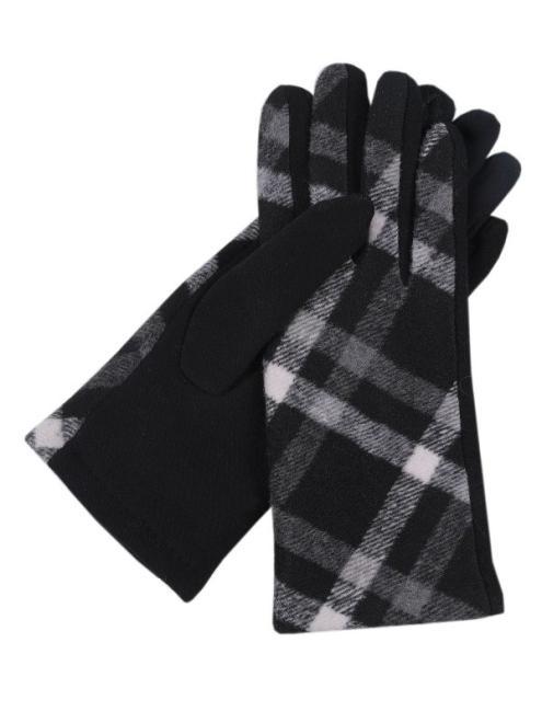 TOP SECRET  rękawiczki standardowe damskie SRE0350 Перчатки Черный оптом