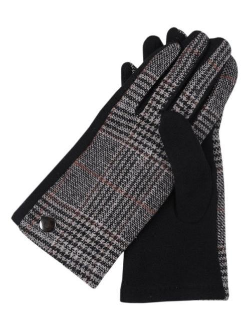 TOP SECRET  rękawiczki standardowe damskie SRE0351 Перчатки Черный оптом