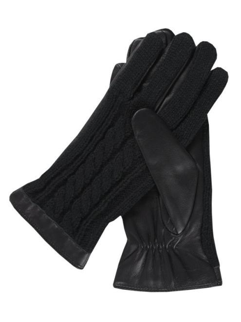 TOP SECRET  rękawiczki standardowe damskie SRE0344 Перчатки Черный оптом
