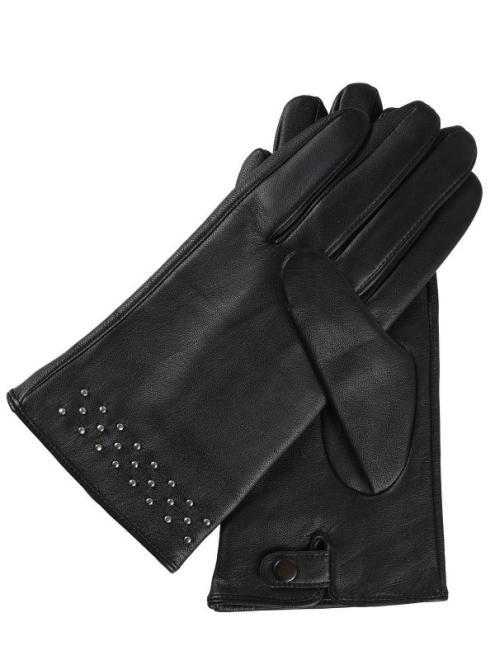 TOP SECRET  rękawiczki standardowe damskie SRE0347 Перчатки Черный оптом