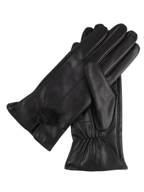 TOP SECRET  rękawiczki standardowe damskie SRE0356 Перчатки Черный оптом