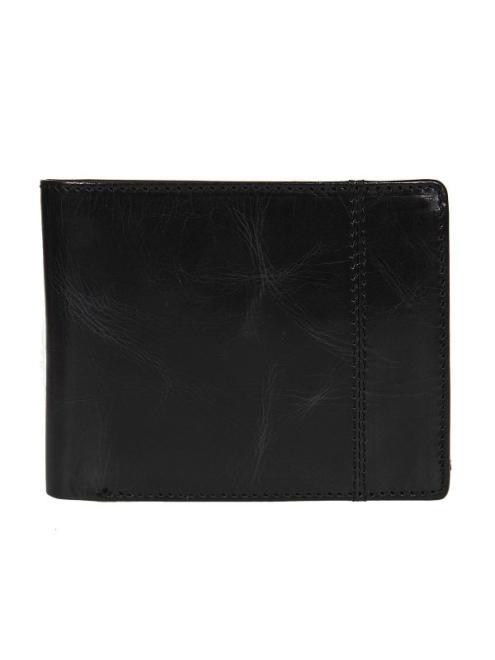 TOP SECRET  klasyczny skórzany portfel SWA0159 Бумажник Черный оптом
