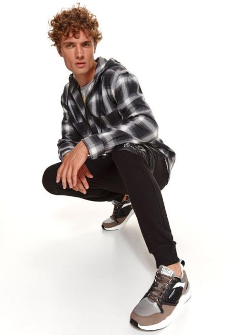 TOP SECRET  buty sportowe typu sneakers SBU0840 Обувь бежевый темный оптом