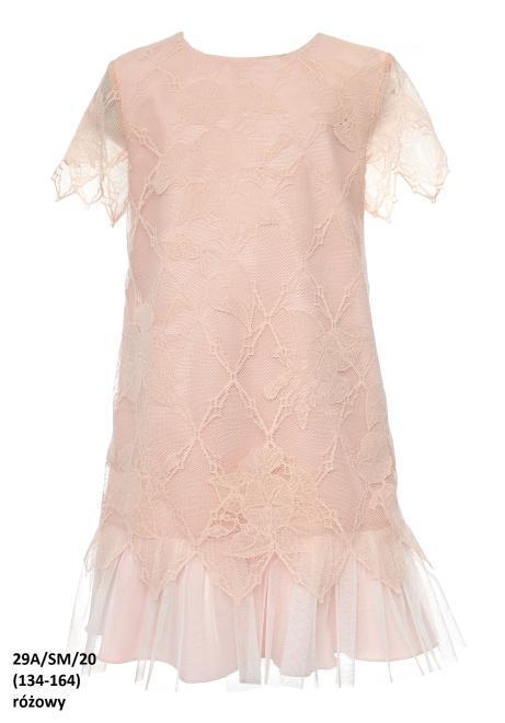 SLY  29A/SM/20 Платье Розовый оптом