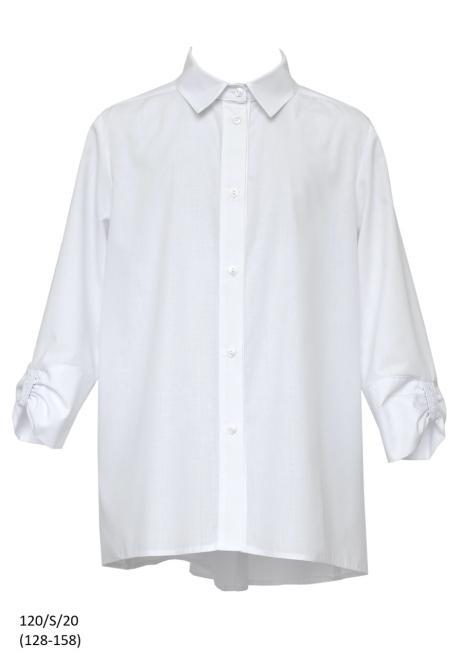 SLY  120/S/20 Блузка Белый оптом